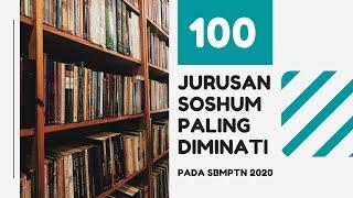 100 Jurusan Soshum Paling Diminati pada SBMPTN 2020