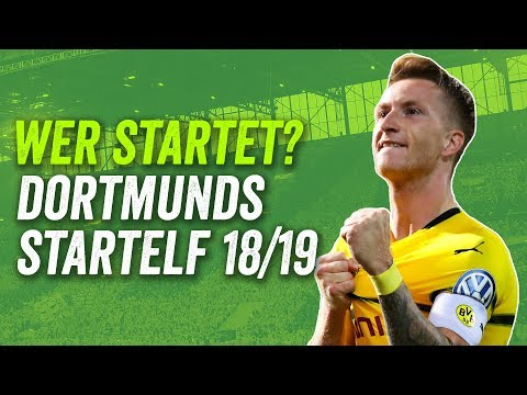 Kann Alcacer den BVB an die Spitze schießen? Dortmunds potenzielle Startelf Saison 2018/19!