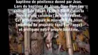 Chant grégorien - gregorian chant : la vie de Saint  Jean Baptiste