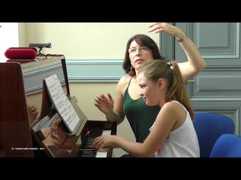 Poros Piano Academy 2017 - Bach Master Class - Prof. Pliassova