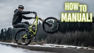 How To Manual your Bike!