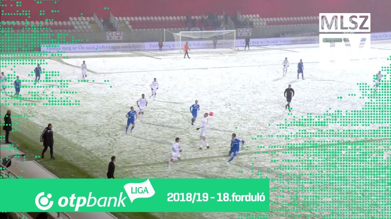 Kisvárda Master Good – MTK Budapest | 1-0 | (0-0)| OTP Bank Liga | 18. forduló | MLSZTV