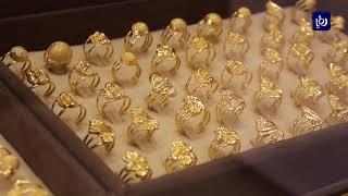 أسعار الذهب في السوق المحلية مع تراجعها نصف دينار للغرام  - (10-6-2019)