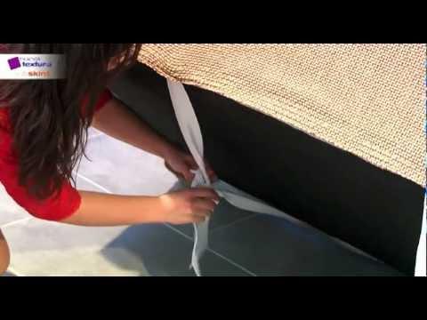 Como colocar una funda de sof youtube - Como hacer unas fundas para el sofa ...