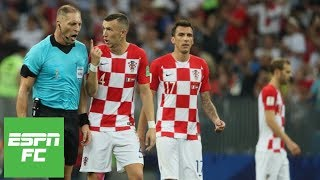 Ivan Perisic penalty decision: Did referee get World Cup final call 'shockingly' wrong? | ESPN FC