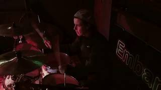 Live band (drummer view) - original song, Christchurch Noodle Blues