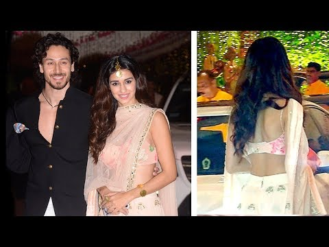 Tiger Shroff With Girlfriend Disha Patani In HOT Saree At Ambani's Party 2017 thumbnail
