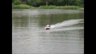 Jet Boat Cabin Cruiser