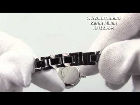 Женские наручные fashion часы Karen Millen KM125BM