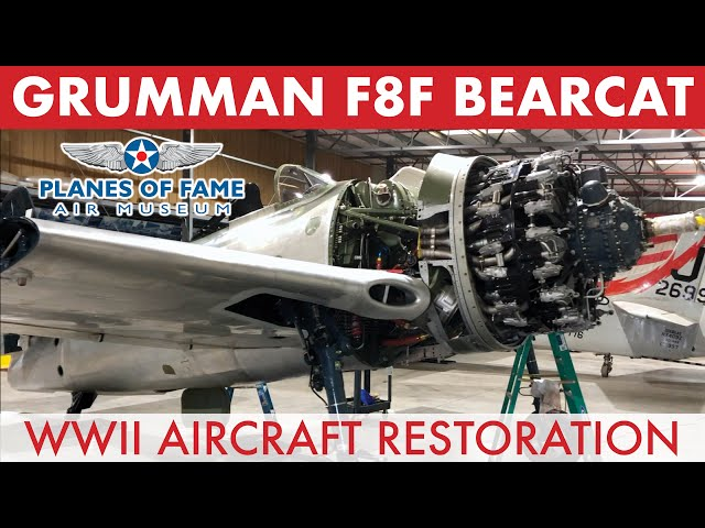 F8F BEARCAT Under Restoration w/ Steve Hinton | Hangar Talk | Planes of Fame