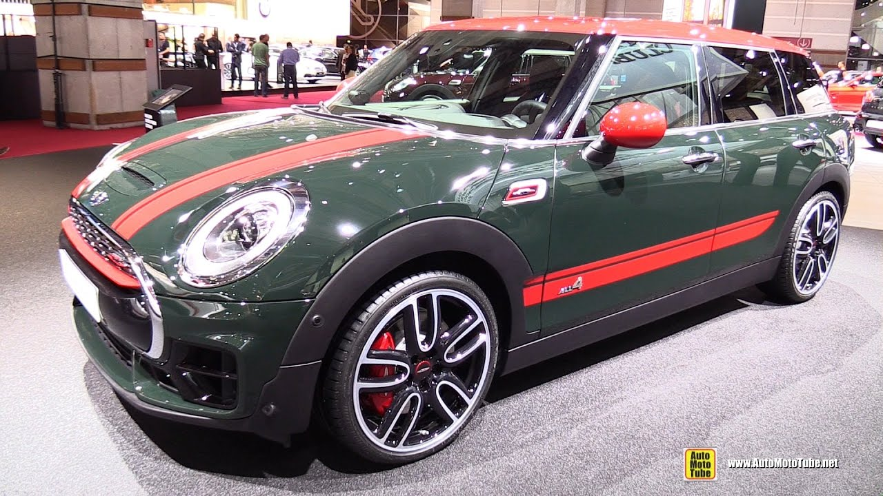 2017 Mini John Cooper Works Clubman All4 231ch Walkaround Debut At 2016 Paris Auto Show You
