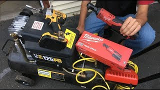 "Milwaukee M12 Cordless 3/8"" In. Ratchet 12-Volt Lithium-Ion 2457-20 | DIY Auto Repair Tools Review"