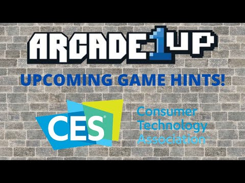 Arcade1up: CES 2021 - John D Hints at new Spring 2021 cabinets - What could they be??? from PsykoGamer