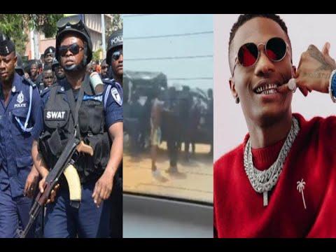 BREAKING NEWS: Wizkid arrɛsted by Police in Ghana | Killbeatz reacts to Wizkid arrɛst