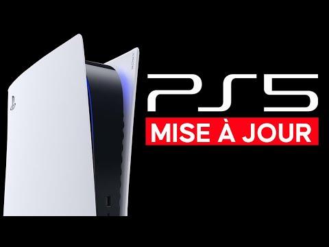 PS5 GROSSE MAJ ⚠️ Stockage amélioré, nouvelles fonctions, partage de jeux PlayStation 5 / PS4...