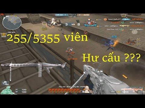 [ Bình Luận CF ] MG3-Perfect Silver hơn 5500 viên - Tiền Zombie v4