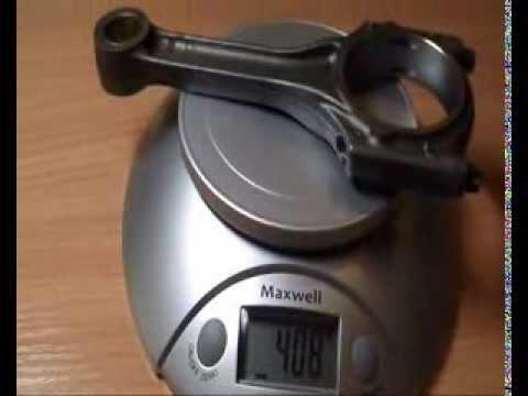 Обзор приоро шатунов и подгонка под один вес