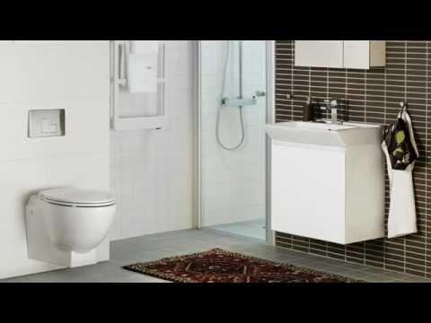 Smarthem.se, Hafa Relax U Vägghängd Toalett - YouTube