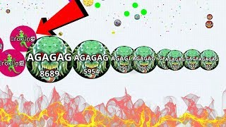 Agar.io Pro Skill Solo Best Moments Take Over Compilation Agario Mobile Gameplay