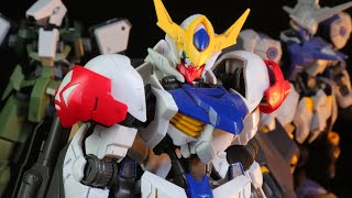 HG 1/144 Gundam Barbatos - IRON BLOODED ORPHANS- Gunpla Review  鉄血のオルフェンズ