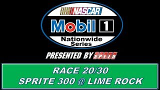 NASCAR Mobil 1 Nationwide Series S2 Sprite 300 @ Lime Rock Park (20/30)