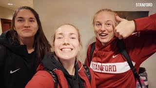 Stanford Women's Volleyball: Final Four Travel Vlog | Jenna Gray