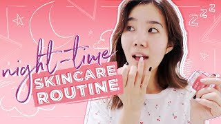 Nighttime K-Beauty Skincare Routine for the Summer | #LANEIGE