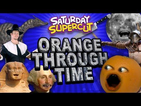 Every Annoying Orange Through Time Episode! [Saturday Supercut🔪]