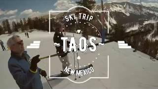 New Mexico Ski Resorts - Taos New Mexico Snow Ski Trip