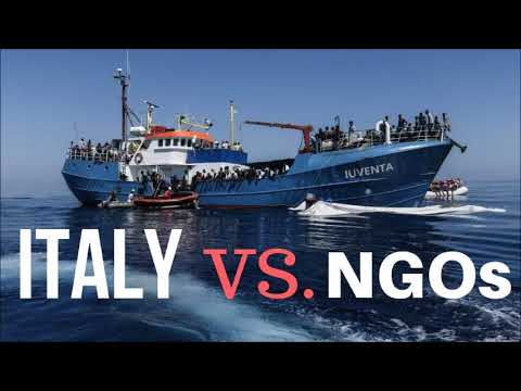 Italy has had Enough of NGO'S & Illegal Migrants!