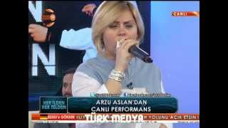 ARZU ASLAN-YALNIZIM DOSTLARIM-CANLI PERFORMANS-(4.VİDEO)-(20-02-2013-TV 2000-HER İLDEN HER TELDEN) Resimi