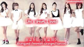 A Pink - Like A Dream [Eng Sub + Romanization + Hangul] HD
