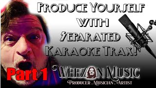 """PART 1 -- Download your favorite Karaoke song on """"SEPARATED TRACKS!!!"""" - Weezon Music Instructional"""