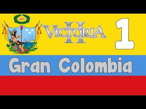 Victoria 2 HPM mod - Gran Colombia 1