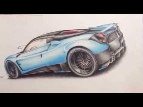 Pagani Huayra H (Sketch and Design) by Roberto Merra - YouTube
