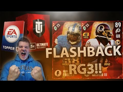 NEW FLASHBACK RG3 AND NICK FAIRLEY!! BEST MOBILE QB IN #MUT17 ?! - Madden Ultimate Team 17