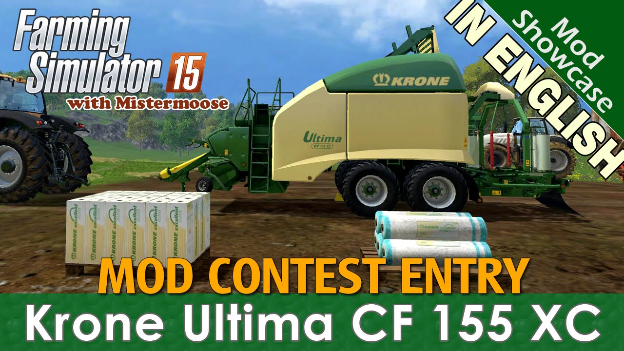 Farming Simulator 2015 Mod Contest Spotlight - Krone Ultima CF 155 XC