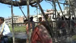 Way To Local Side Scene | Crossing the Bridge | Kathmandu, Nepal - HD