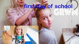 GRWM first day of SCHOOL Get Ready With ME back to school 2018