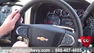 Phillips Chevrolet - 2018 Chevy Silverado 1500 - Steering Wheel Controls