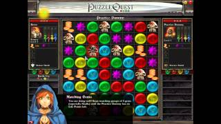 Retro Plays Puzzle Quest: Challenge of the Warlords (PC) 1/4