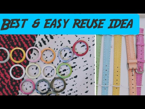 HOW TO MAKE DIY STATEMENT NECKLACE USING OLD WATCH| tutorial|recycled