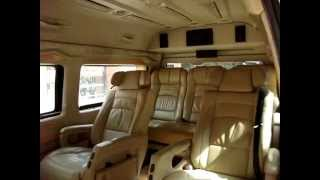 Luxury Toyota Hiace Commuter Van Hire