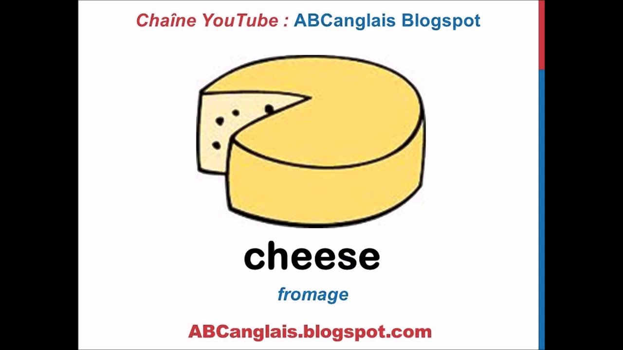 Fabuleux Cours d'anglais 35 - Les produits laitiers en anglais Vocabulaire  NO51
