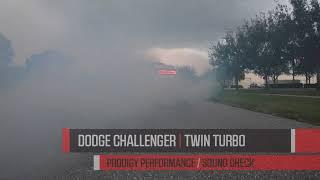 Dodge Challenger Twin Turbo Kit Sound Check   Prodigy Performance