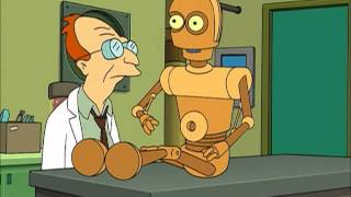 Professor Farnsworth - Failed Robot