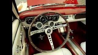 1965 Mustang GT Convertible, 4 Speed, K Code Solid Lifter Engine, Barrett Jackson car.