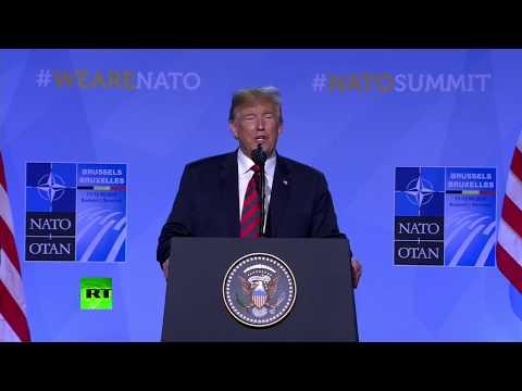"Trump At NATO Summit vs. ""I Am A Stable Genius"""