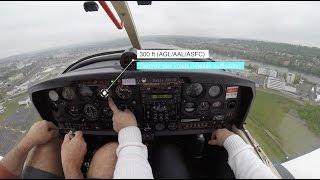 ✈ Formation tours de piste et atterrissage [Vol d'instruction]