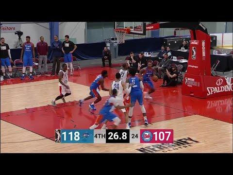 Long Island Nets with 21 3 pointers  vs. Oklahoma City Blue